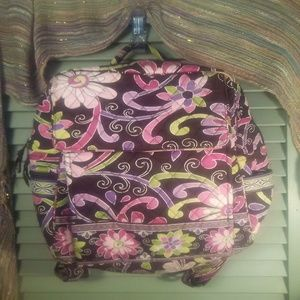 "Vera Bradley ""Purple Punch"" retired backpack"